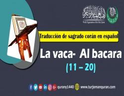 Traducción de sagrado corán en español - 2 - La vaca Al bacara