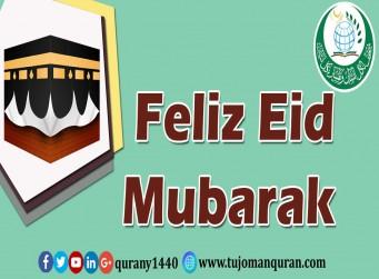 Feliz Eid Mubarak