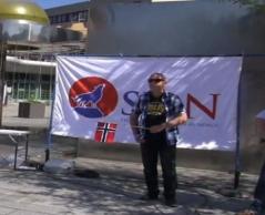 النرويج .. رئيسة مجموعة يمينية متطرفة تسيئ للقرآن الكريم ..