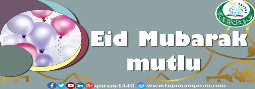 Eid Mubarak mutlu