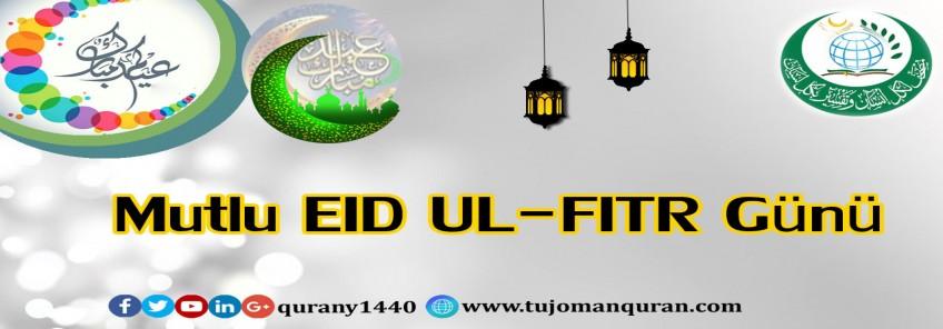 Mutlu EID UL-FITR Günü